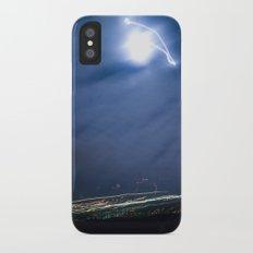 Moon Jump Sky iPhone X Slim Case