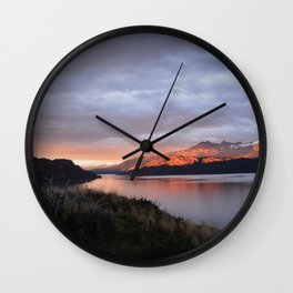 Patagonia region in Argentina South America Wall Clock