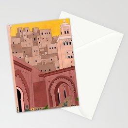 Marrakesh Illustration Stationery Cards