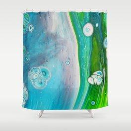 Stream Shower Curtain