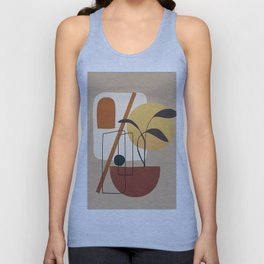 Abstract Shapes No.17 Unisex Tank Top