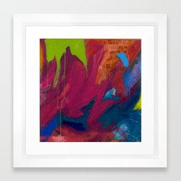 thick as air Framed Art Print