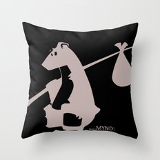 The Original Bear Throw Pillow