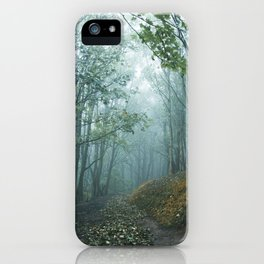 First touch of Autumn iPhone Case