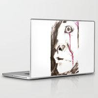 kill la kill Laptop & iPad Skins featuring kill by cistus skamberji
