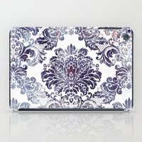 damask iPad Cases featuring Blueberry Damask by Dena Brender Photography