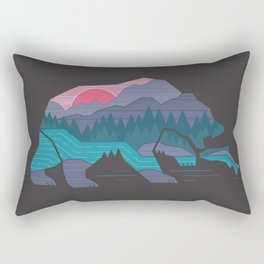 Bear Country Rectangular Pillow