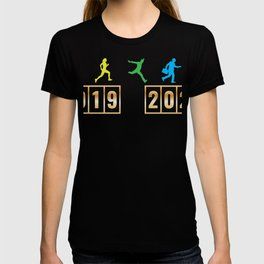 2019 2020 Happy New Year 2020 January 1st Fireworks Resolution Holiday Christmas T-shirt Design T-shirt