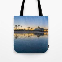Wet Sand Sunrise Tote Bag