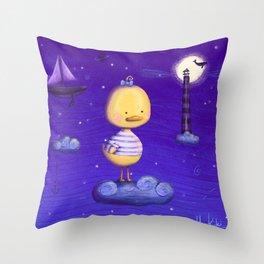 Little Duck Throw Pillow