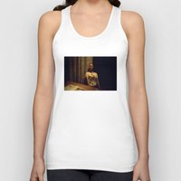 brussels Tank Tops featuring Mannequin in Brussels by mojekris