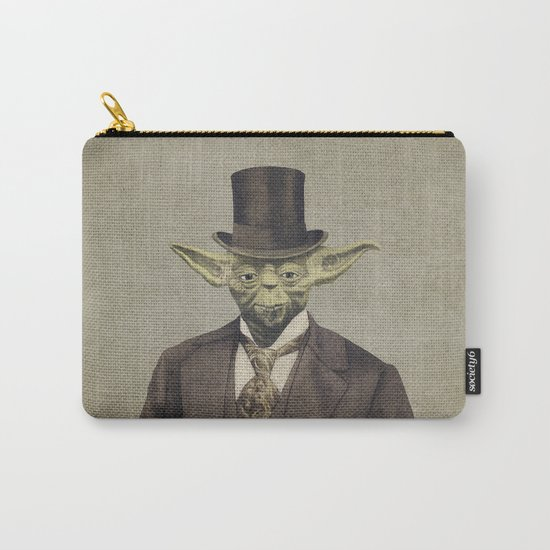 Sir Yodington  - square format Carry-All Pouch