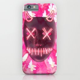 Neon Horns and Hearts iPhone Case