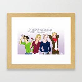 APTquartet Framed Art Print