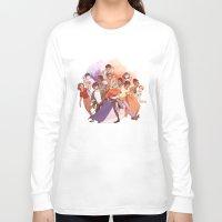 les miserables Long Sleeve T-shirts featuring Les Miserables: Un Groupe Qui a Failli Devenir Historique by batcii