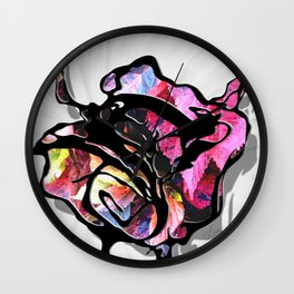 Journey Into the Unknown Wall Clock