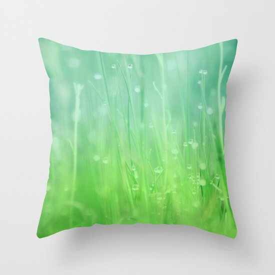 Magic Happens Here Throw Pillow