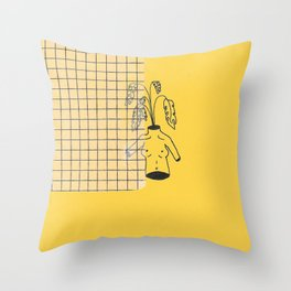 PLANTGURL Throw Pillow