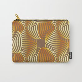 Gold floral art Carry-All Pouch