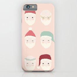 Santas - Blush iPhone Case