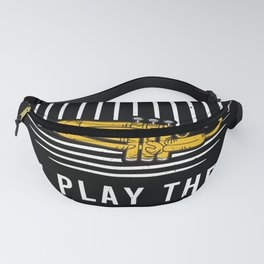Trumpet Saying Player Gift Fanny Pack