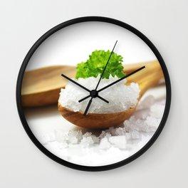 Flavor Salt Wall Clock