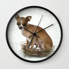 A little confused Wall Clock