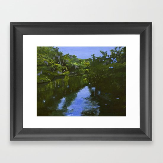 Turkey Creek Framed Art Print
