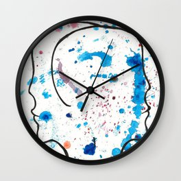 DIFFERENT PERSPECTIVE Wall Clock