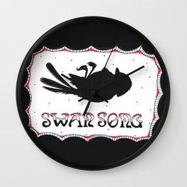 Phantom Of Paradise : Swan Song Wall Clock