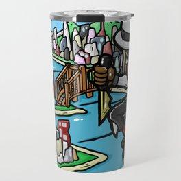 BOWLER HAT NINJA! Travel Mug