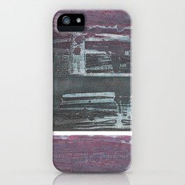 Pink Pollution iPhone Case