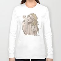 fili Long Sleeve T-shirts featuring Milky Fili by ScottyTheCat