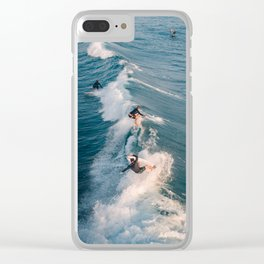 Party Wave Clear iPhone Case