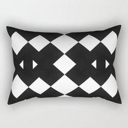 Branting Black & White Pattern Rectangular Pillow