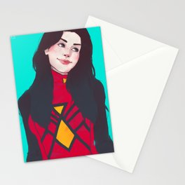 raise your hand if you have spider powers Stationery Cards