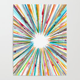 Colors explosion Poster