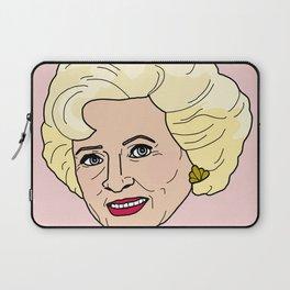 Rose Portrait Laptop Sleeve