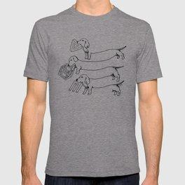 Escher's Other Dogs T-shirt