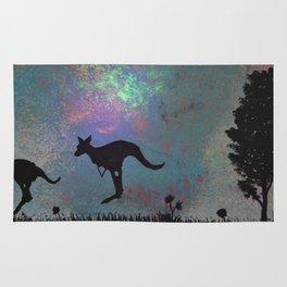 Kangaroo fun <3 Rug