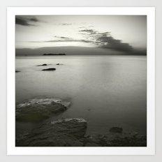 Aguas calmas Art Print