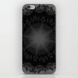 Dark Mandala #1 iPhone Skin