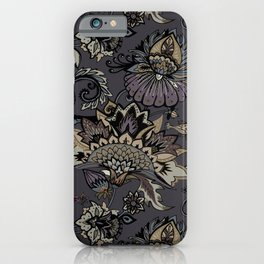Lavelly paisley 2. iPhone Case