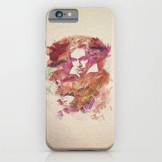 Ludwig van Beethoven Watercolor Remix  iPhone 6s Slim Case