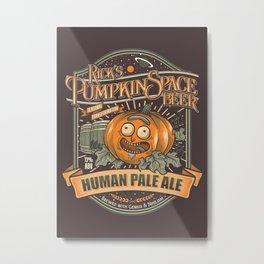 Pumpkin Space HPA Metal Print