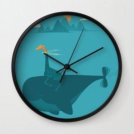 Nature's Submarine Wall Clock