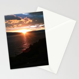 Sunset over the Adriatic Stationery Cards