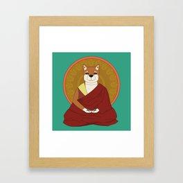 Dalai-Shiba Framed Art Print