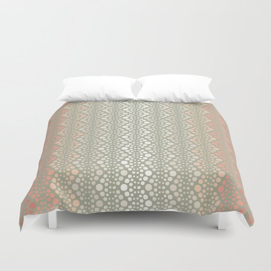Retro Dotted Pattern 06 Duvet Cover