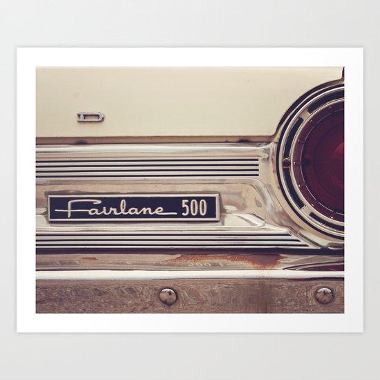 Fairlane 500 Art Print